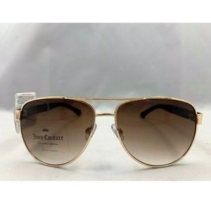 UICY COUTURE Rose Gold Metal Sunglasses